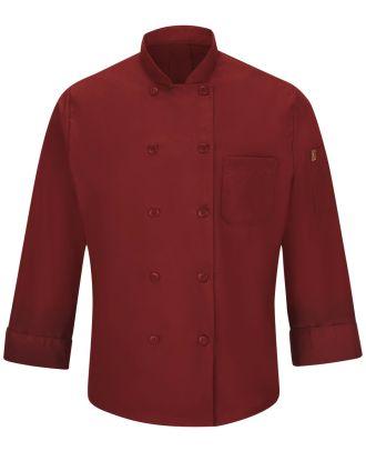 Chef Designs Men's L/S Oilblok Mimix 10-Button Chef Coat
