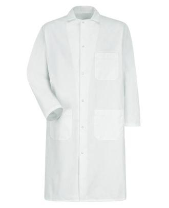 Redkap Men's Gripper-Front Butcher Coat