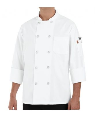 Chef Designs Men's L/S Classic Chef Coat