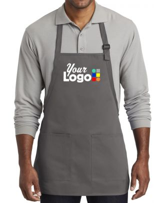 WF Medium-Length Custom-Logo Apron