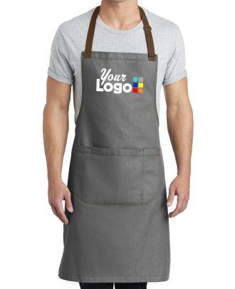 WF Market Full-Length Custom-Logo Apron