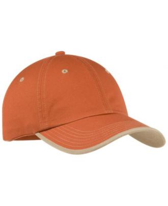 Port Authority Vintage Washed Contrast Stitch Unstructured Cap