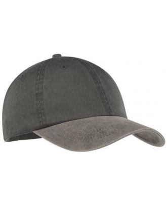 Port & Company 2-Tone Pigment Dyed Unstructured Cap