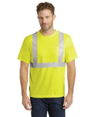 CornerStone Men's S/S ANSI-Complaint Safety Hi-Visibility T-Shirt