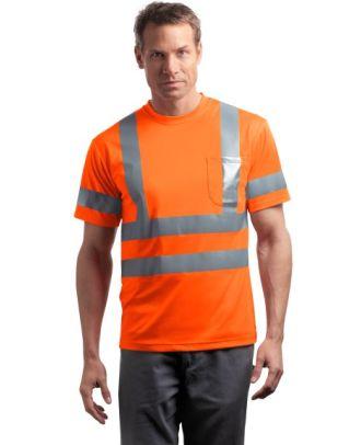 CornerStone Men's S/S ANSI Class 3 Reflective Hi-Visibility T-Shirt