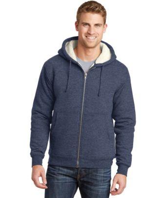 CornerStone Men's Heavyweight Sherpa-Lined Hooded Work Jacket