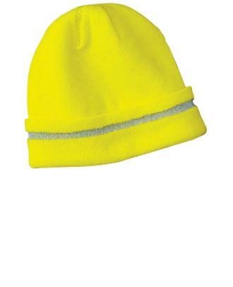 CornerStone safety with reflective stripe Beanie Cap