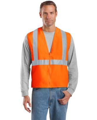 CornerStone Men's ANSI-Complaint Safety Hi-Visibility Vest