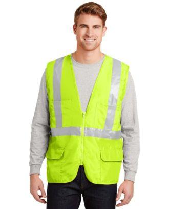 CornerStone Men's ANSI Class-2 Mesh Safety Hi-Visibility Vest