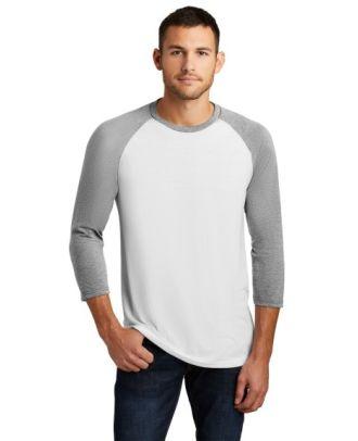 District Men's 3/4 Sleeve Perfect Tri Raglan T-Shirt