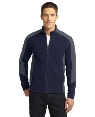 Sport-Tek Men's ColorBlcok MicroFleece Jacket