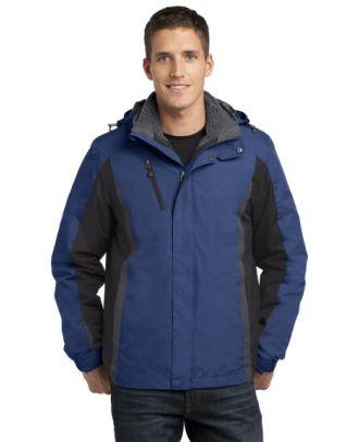 Port Authority Men's ColorBlock 3-in-1 Jacket