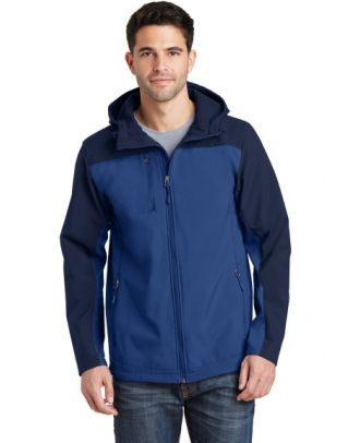 Port Authority Men's Hooded Core Soft Shell Jacket