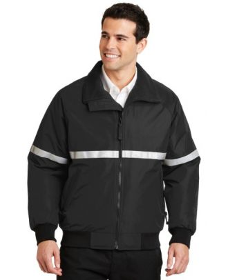 Port Authority Men's Challenger Reflective Taping Hi-Visibility Jacket
