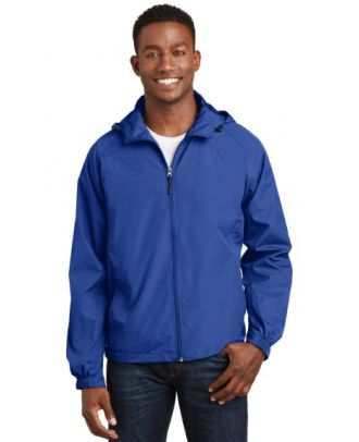 Sport-Tek Men's Raglan Hooded Jacket