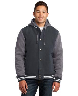 Sport-Tek Men's Insulated Letterman Jacket
