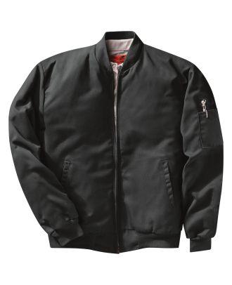 Redkap Men's Solid Team Work Jacket