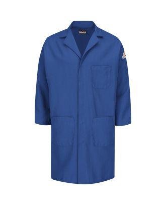Bulwark Men's L/S Concealed Sanp-front Nomex IIIA Flame Resistant Coat