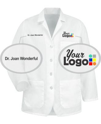 WF Women's Lapel Custom-Medical Coat