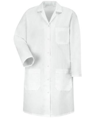 Redkap Women's Gripper Front Medical Lab Coat