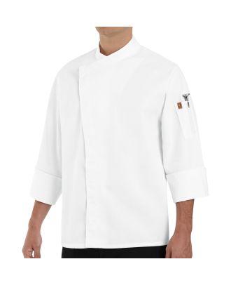 Chef Designs Men's L/S Tunic Chef Coat