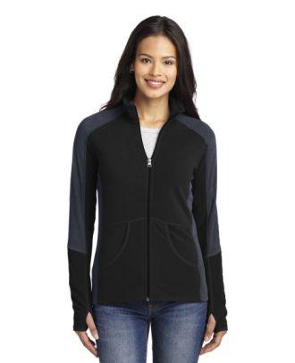 Sport-Tek Women's ColorBlcok MicroFleece Jacket