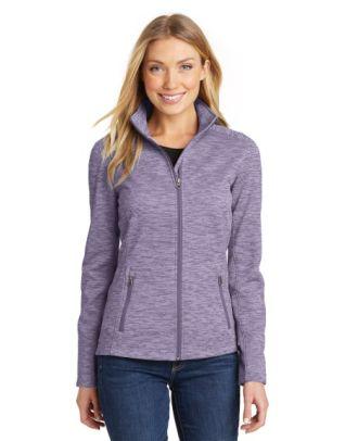 Port Authority Women's Digi-Stripe Fleece Jacket