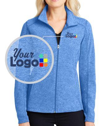 WF Women's Heather Microfleece Custom-Logo Jacket