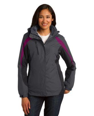 Port Authority Women's ColorBlock 3-in-1 Jacket
