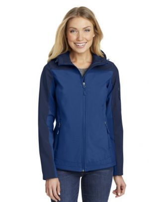 Port Authority Women's Hooded Core Soft Shell Jacket