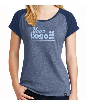 WF Women's S/S Heritage Varsity Custom-Logo T-Shirt