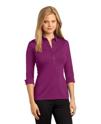 Ogio Women's 3/4 Sleeve Gauge Golf Shirt