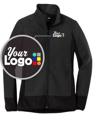 WF Women's Grid-Pattern Trax Custom-Logo Jacket