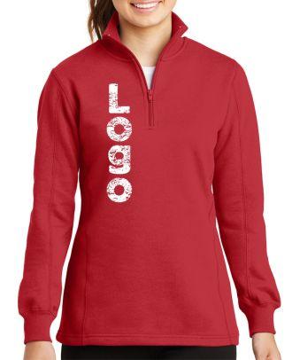 WF Women's 1/4 Zip Custom-Logo Sweatshirt