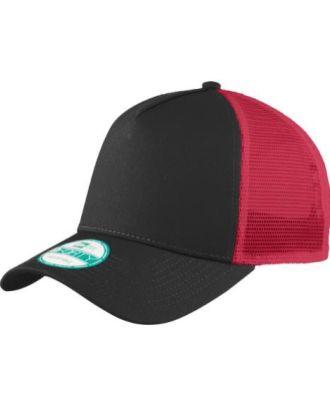 New Era Snapback Trucker 5-Panel Mesh-Back Cap