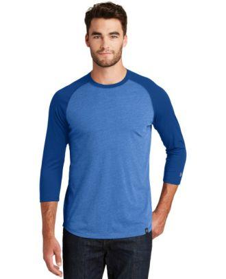 New Era Men's 3/4 Sleeve Heritage Raglan T-Shirt
