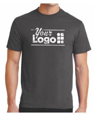 WF-BigDeal Men's S/S Blend Crewneck (100-minimum) Custom-Logo T-Shirt