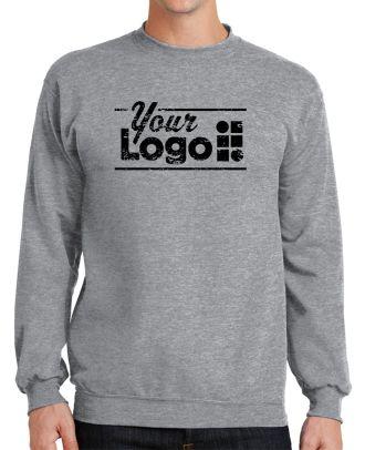 WF Men's Classic Custom-Logo Sweatshirt
