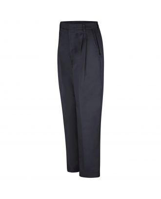 Redkap Women's Pleated-Front Twill Work Pant