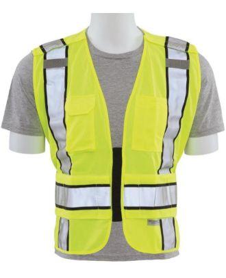 ERB Unisex 5-Point Breakaway Type-P Class-2 Upgraded Hi-Visibility Vest