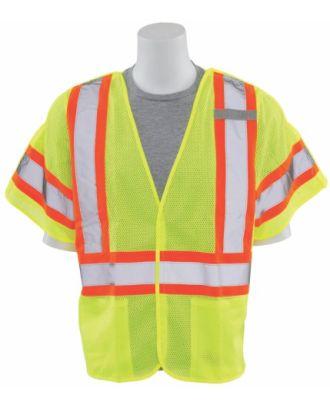 ERB Men's 5-Point Breakaway Class-3 Hi-Visibility Vest