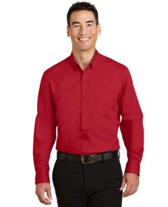 Port Authority Men's L/S SuperPro Twill Shirt
