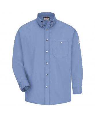 Bulwark Men's L/S Dress Excel Flame Resistant Shirt