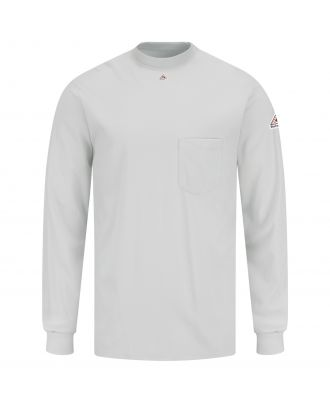 Bulwark Men's L/S Tagless-Excel Flame Resistant T-Shirt