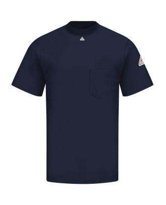 Bulwark Men's S/S Tagless Excel Flame Resistant T-Shirt