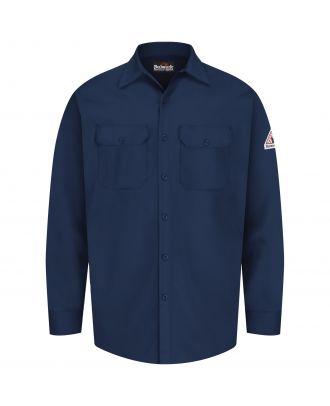 Bulwark Men's L/S Excel Flame Resistant Shirt
