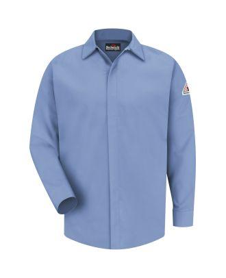 Bulwark Men's L/S Concealed-Gripper Excel-FR Flame Resistant Shirt
