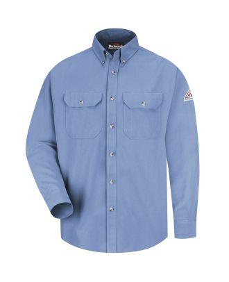 Bulwark Men's L/S Dress Uniform CoolTouch Flame Resistant Shirt