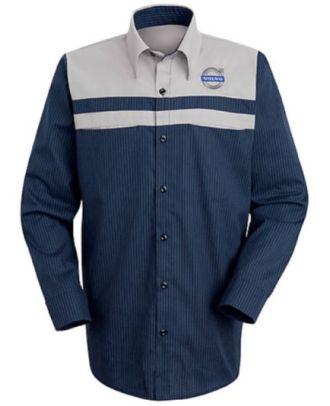 Redkap Men's L/S Technician Volvo Automotive Shirt