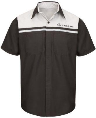 Redkap Men's S/S Technician Lexus Automotive Shirt